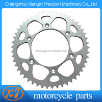 colored motorcycle sprocket for honda wave 125