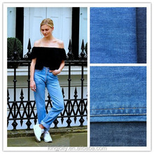 heavy fashion conventional denim fabric of 100% cotton denim fabric used for jeans made in china