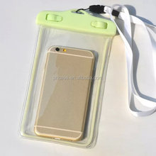 2015 high quality outdoor waterproof cell phone belt bag
