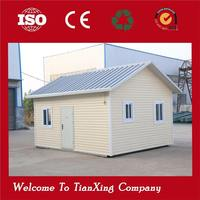 made in China beach hot sale house prefabricated house low cost