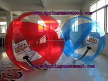 colorful stripe inflatable water ball sp-wb001