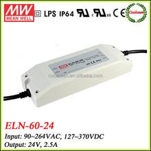 Meanwell led tube driver ELN-60-24