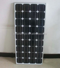 80W Monocrystalline Solar Panel for home system with green energy