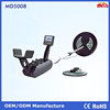 Under ground gold detector long range,deep under ground metal detector MD5008 with two search coil
