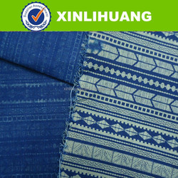2016SS new arrival printed denim fabric pakistan from China supplier