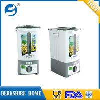12L kitchen rice bin, useful plastic rice container