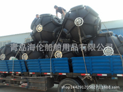 World widely using High performance Sling type floating pneumatic rubber marine fender in china
