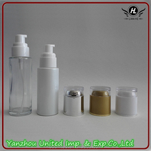 New design of cosmetic cream glass bottles