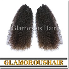 Best Selling Dyeable Factory Prices Afro Kinky Curly Brazilian 100 human hair extensions