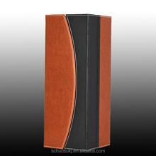 Luxurious Leather Wine Bottle Case, Wine Glass Box Wholesale, Custom Case Beverage Packaging Box
