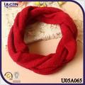 cuello bufandas elegante más caliente de moda cuello bufanda tejido