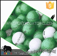 Thin wholesale sports fabric 3D printed golf towel