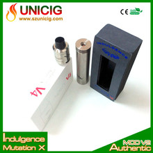2015 new mechanical mod Mutation X V2 mod electronic cigarette by indulgence unicig wholesale price