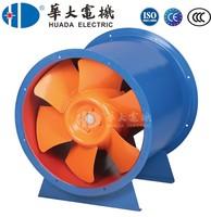 Huda Alumnium high temperature mixed-flow fan 0.75-45kw
