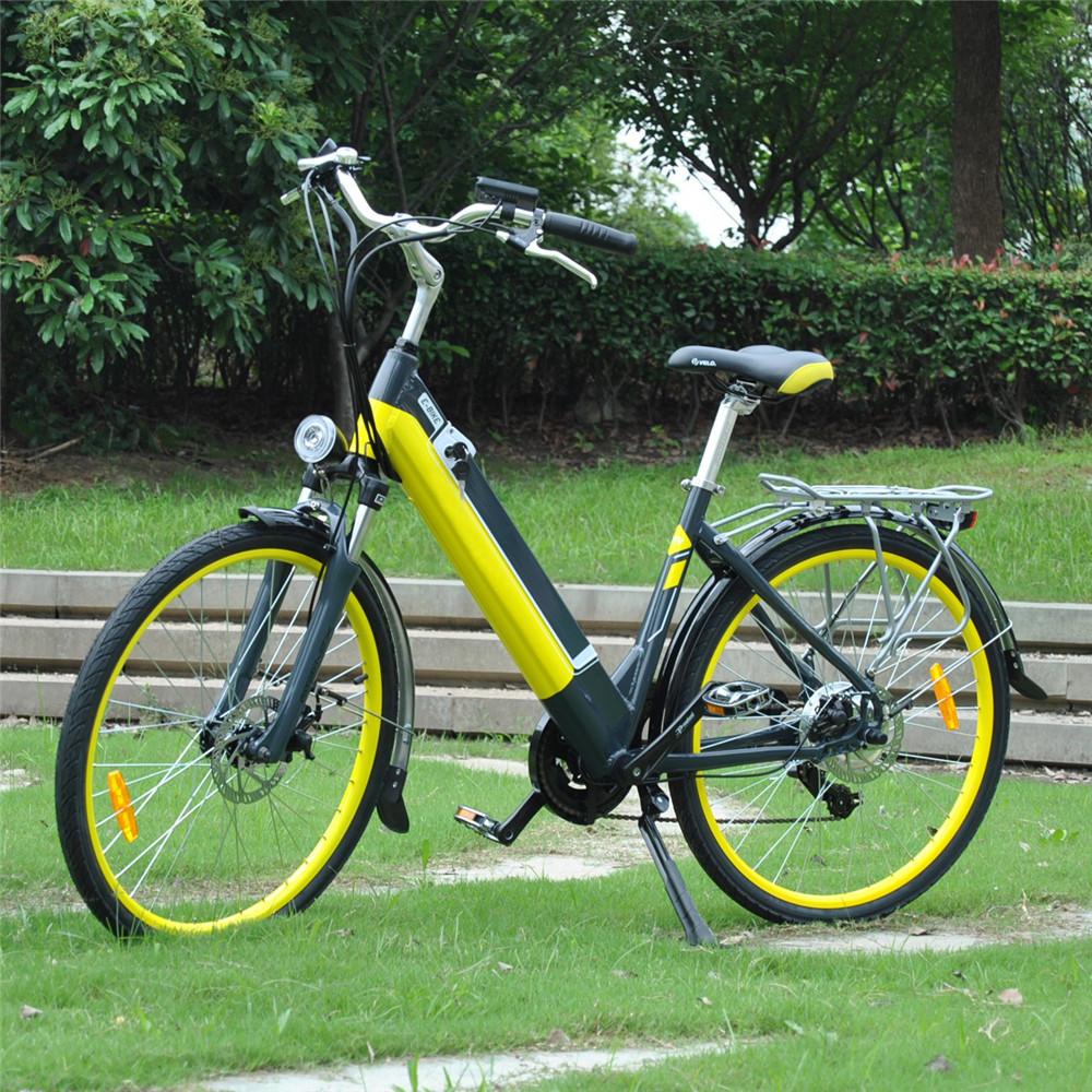 hidden battey juicy roller city electric bike bicycle. Black Bedroom Furniture Sets. Home Design Ideas