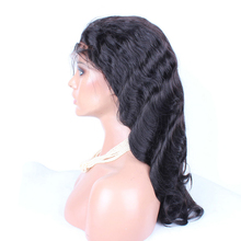 Super silk top lace front wigs with body wave