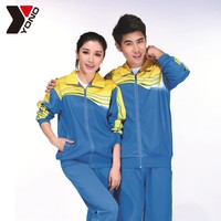 new wholesale custom lover women men training sportswear uniform sets of clothes for adults