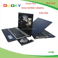"1920*1080P 15.6"" Metal Case Dual Core Laptop J1800 2.41GHz 2GB RAM 500GB HDD With DVD-RW OEM Service laptop prices in japan"