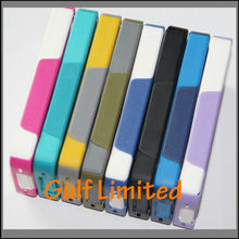 New Arrival Silicone and PC Back Cover Case for iPhone4/4S