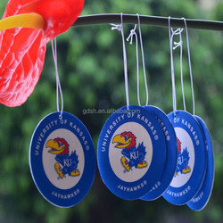 promotional paper car air freshener, air freshener for Car, hanging air freshener