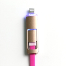 Best Selling Novel Design Usb Cable With Led Light 2015