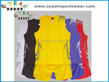 custom sublimation Basketball jersey /wear/uniforms wholesale with free shipping