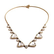 Crystal Fashion Necklace Choker Women Brand Jewelry choker Necklace Pendant Collar Wholesale N11504