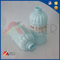 Green Empty plastic bottle PE bottle for shampoo, cosmetic products,bubble bottles