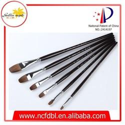 Artist Durable Painting Brush Wooden Brush for Paint Drawing Brush