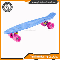 Cheap and high quality 60*45mm 78A smooth wheel custom complete skateboards
