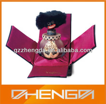 High Quality Customized Made-in-China perfume Packing Fabric Wrap Creative Design Gift Box(ZDL14-P002)