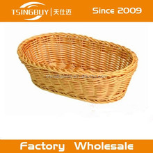 China factory direct wholesale Bread displaying customized size storage baskets and bins for shelves