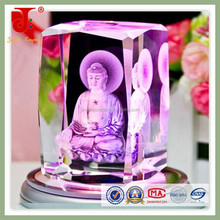 2015 new design crystal religious crafts with popular sales