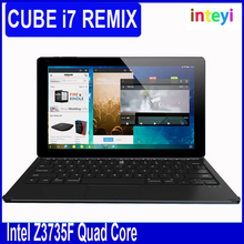 "Original 11.6"" Cube I7 Remix Tablet PC+Keyboard Intel Z3735F Quad Core 2GB+32GB GPS Multi-language 2MP+5MP Remix OS Tablet"