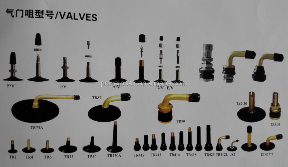 inner tube valves