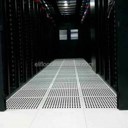 Floor Perforated Tiles Server Rooms : Server room steel perforated raised access floor buy