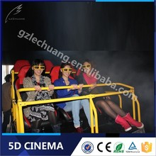 Lechuang Business Investments 3D Glasses 4D Simulator Cinema
