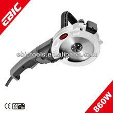 860w 125mm double blade concrete saw