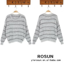 sublimata maglione con il prezzo basso modello a strisce maglione maglia personalizzata
