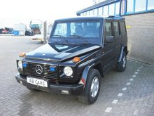 MERCEDES G-ARMOURED