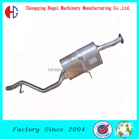 spin formed heat resuistance auto muffler exhaust for generator