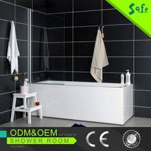 Safe Aluminum 2015 new design shower bath with high quality