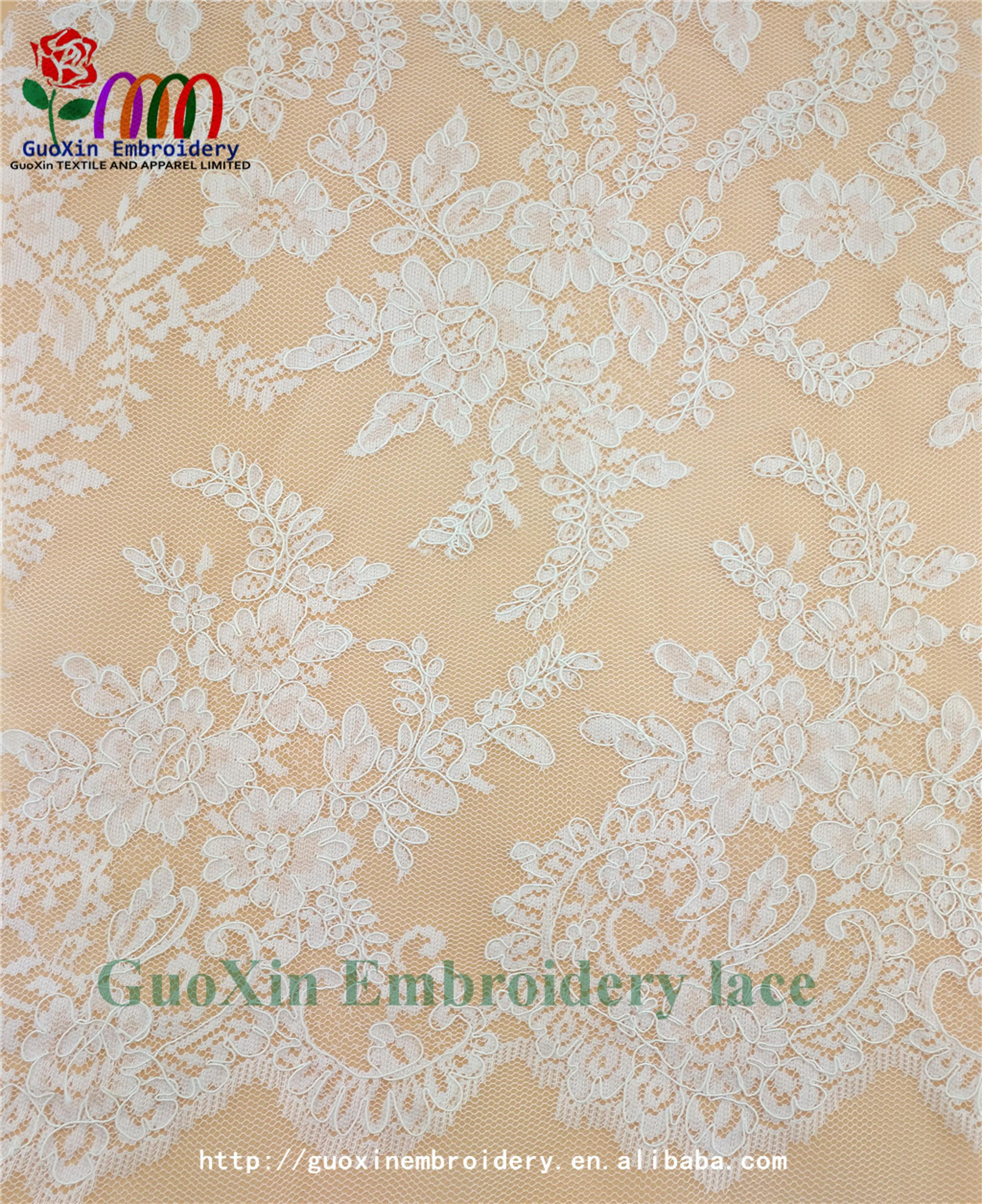 high quality designer bridal sarees image lace embroidery lace fabric with cording (4).jpg