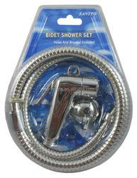 Female Bidet shower sprayer with 1.2M stainless steel hose and bracket