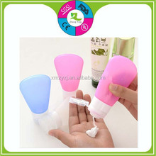 New Style Empty Bottle Silicone Travel Bottle silicone Shampoo travel bottle