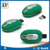 Corporate anniversary gift wireless optical mini mouse with oem logo mini nano receiver