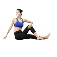 TRY Women's Fitness Active wear Yoga Pants Sport Bra Sets