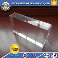 2015 hot selling plastic large acrylic sheets 30mm