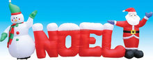 CILE 2014 best selling Inflatable Father Christmas and snowman for decoration