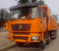 SHACMAN F2000 8x4 dump truck for Africa on sale